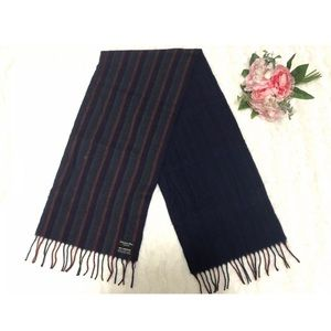 Auth Christian Dior Monsieur Lambswool Scarf Wool